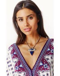 Natalie B. Jewelry | Blue Zephyr Necklace | Lyst