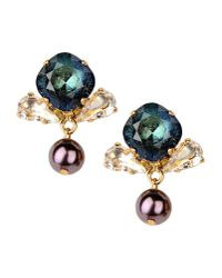 Vickisarge | Metallic Earrings | Lyst