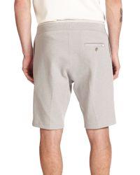 DIESEL - Gray Storm Shorts for Men - Lyst