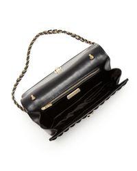 Ferragamo - Natural Shoulder Bag - Ginny Runway Chain Quilt - Lyst