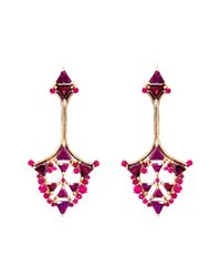 Fernando Jorge | Purple Ruby, Rhodolite & Rose-Gold Earrings | Lyst