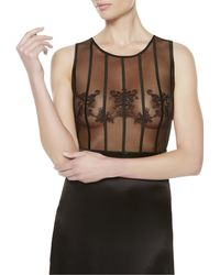 La Perla | Black Long Night Dress | Lyst