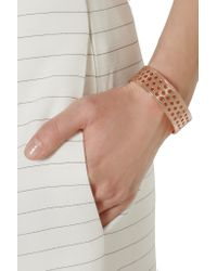Arme De L'Amour - Metallic Rose Gold-plated Cuff - Lyst