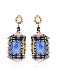 Nocturne | Blue Jamilla Cobalt Earrings | Lyst