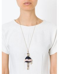 Servane Gaxotte - Metallic Doll Pendant Necklace - Lyst