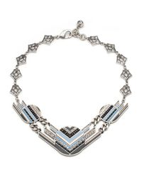Lulu Frost | Metallic Chroma Statement Necklace | Lyst