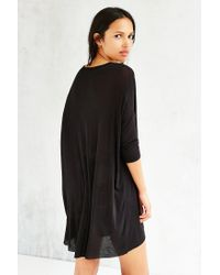 Kimchi Blue - Black Dreamer Open-front Cardigan - Lyst
