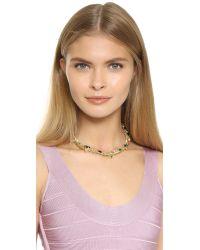 Iosselliani - Multicolor Multi Strand Necklace - Multi/gold - Lyst