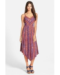 Plenty by Tracy Reese | Multicolor Print Slipdress | Lyst