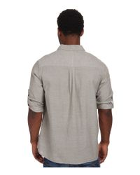 Toad&Co - Gray Honcho L/s Shirt for Men - Lyst