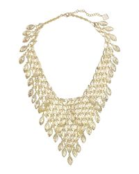Kendra Scott | Metallic Tanay Statement Bib Necklace for Men | Lyst