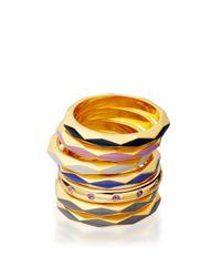 Astley Clarke - Metallic Heather Bloom Faceted Ring - Lyst