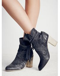 Free People - Multicolor Hybrid Strappy Ankle Boots - Lyst