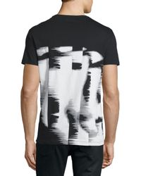 CoSTUME NATIONAL - Black Short-sleeve Graphic Pullover for Men - Lyst