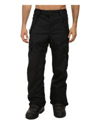686 | Black Authentic Standard Pant for Men | Lyst