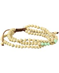 Chan Luu | Natural 6 3/4' Multi Strand Paper Bead Single Bracelet | Lyst