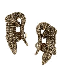 Roberto Cavalli Metallic Earrings