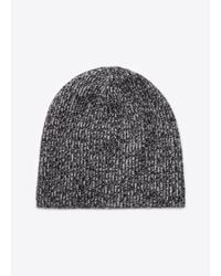 VINCE | Gray Cashmere Marled Knit Beanie for Men | Lyst