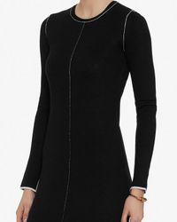 Rag & Bone - Black Andee Knit Dress - Lyst