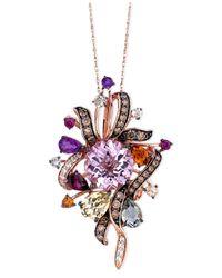 Le Vian | Purple Multi-stone (9-1/2 Ct. T.w.) In 14k Rose Gold | Lyst