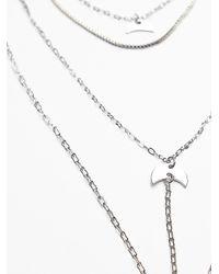 Free People - Metallic Womens Waterfalls Necklace - Lyst