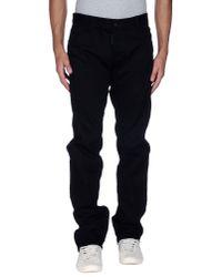 DSquared²   Black Denim Trousers for Men   Lyst