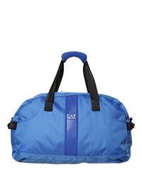 13f818375b Men's Blue Nylon Duffle Bag