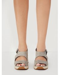 Free People | Gray Jeffery Campbell Womens Hastings Sport Wedge | Lyst