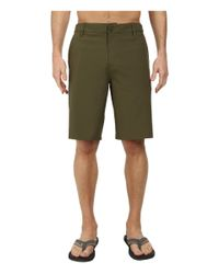 Rip Curl Green Mirage Boardwalk Shorts for men
