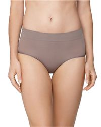 Yummie By Heather Thomson | Gray Natalie Ultralight Seamless Hipster | Lyst