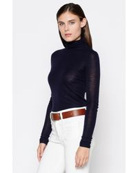 Joie Blue Cenelle Turtleneck