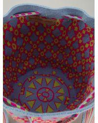 Muzungu Sisters - Blue Wayuu Mochila Shoulder Bag - Lyst