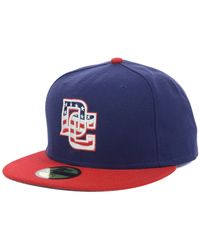 KTZ - Blue Washington Nationals Authentic Collection 59fifty Cap for Men - Lyst