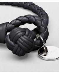 Bottega Veneta Black Nero Intrecciato Nappa Bracelet for men