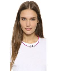 Venessa Arizaga | Pink Mira Mikati Look Necklace | Lyst
