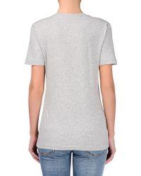 Love Moschino Gray Short Sleeve T-shirts