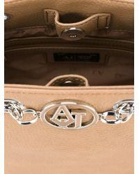 Armani Jeans Natural Bucket Shoulder Bag