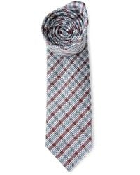 Brioni Multicolor Checked Tie for men
