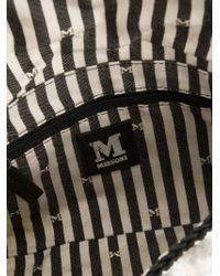 M Missoni - White Bouclé-Knit Shoulder Bag - Lyst