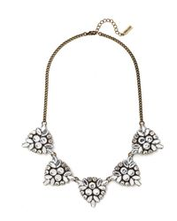 BaubleBar | Black Crystal Holly Necklace | Lyst