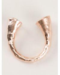 Bjorg Metallic Blue Moon Ring