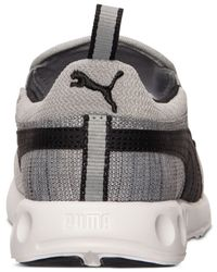 PUMA - Gray Men's Carson Runner Slip-on Casual Sneakers From Finish Line for Men - Lyst