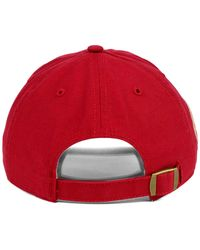 47 Brand Red St. Louis Cardinals Baseball United Clean Up Cap for men
