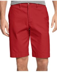 Tommy Hilfiger | Red Classic-fit Chino Shorts for Men | Lyst