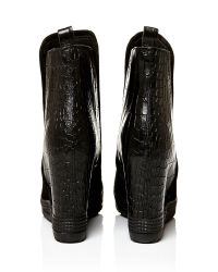 Moda In Pelle Black Adriano High Casual Short Boots
