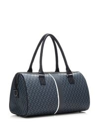 Guess | Black Heritage Logo Travel Bag for Men | Lyst
