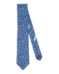 Ferragamo - Blue Tie for Men - Lyst
