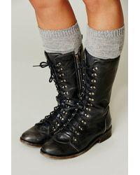 Bed Stu - Black Region Laceup Boot - Lyst