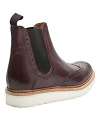 Foot The Coacher Red Alistair Boot for men