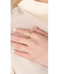 Marc By Marc Jacobs | Natural Dreamy Logo Band Ring | Lyst